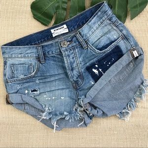 One Teaspoon Bandit shorts 25